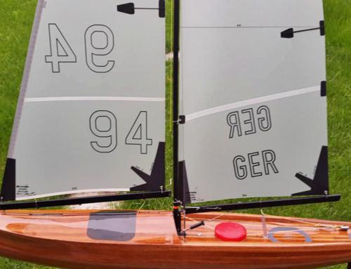 Kundenbewertung: Selbstklebende Segelnummer für das Modellboot