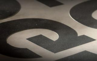 Geplottete Buchstaben