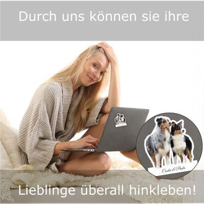 Tierfotoaufkleber