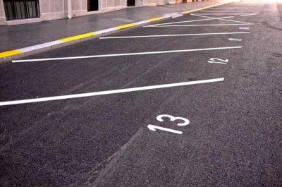 parkplatzschilder parkplatzbeschilderung