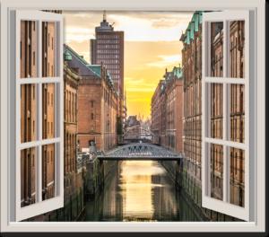 Wandtatto Fenster zur Welt von Folien-Arbeiter.de
