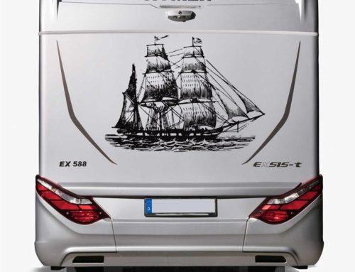 Klebefolien gestalten: Neues Design für Wohnwagen und Wohnmobile