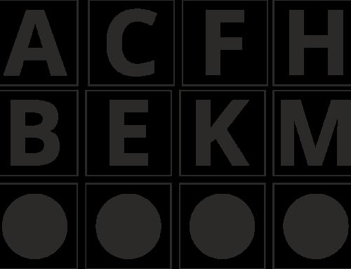 Die Bahnpunkte im Dressurviereck