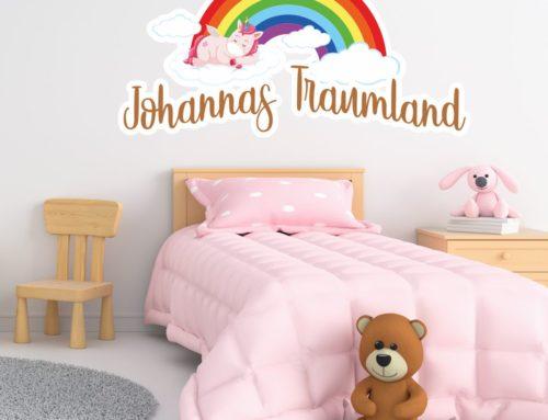 Buchstaben Aufkleber nicht nur für das Kinderzimmer