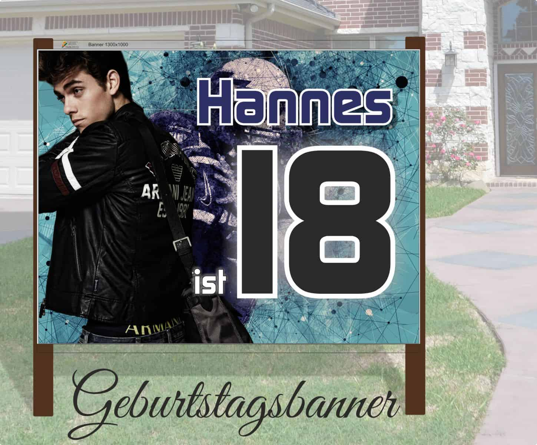 Geburtstags Banner