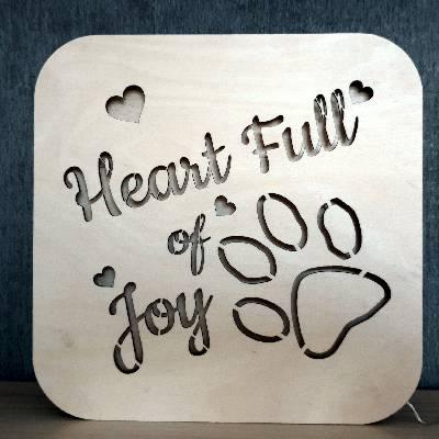 heart full of joy