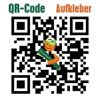 QR-Code Aufkleber