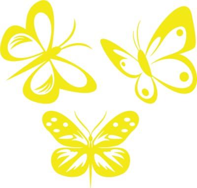 Schmetterling Aufkleber SET I in vielen Farben