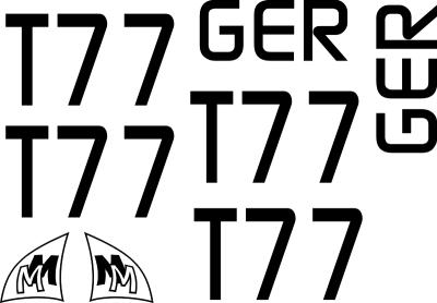 MM MicroMagic Segelnummer Set