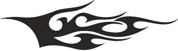Heckscheiben Tribal 002