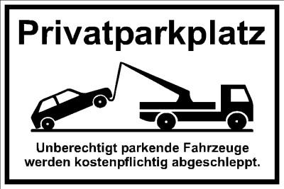 Privatparkplatz Falschparker 001