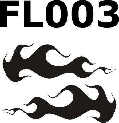 Flammenaufkleber-FL003