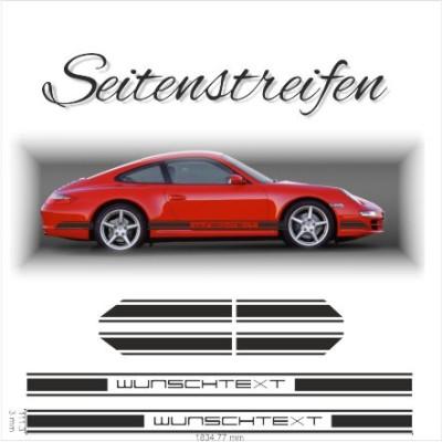 Seitenstreifen Design 001