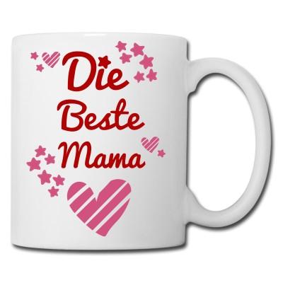 Kaffeebecher für die Beste Mama