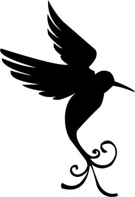 Hochzeitsvogel als Aufkleber HT03