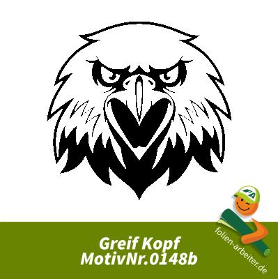 Greifvogel Kopf böser Blick