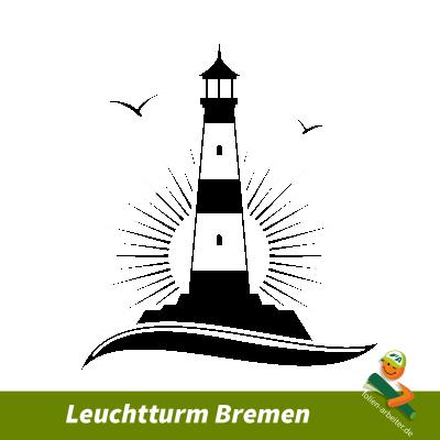 Leuchtturm Bremen Aufkleber