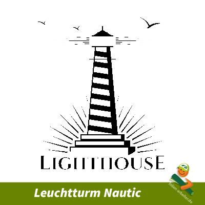 Leuchtturm Nautic Aufkleber