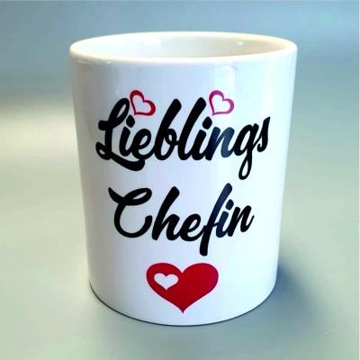 Lieblingschefin Kaffebecher