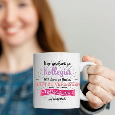 Großartige Kollegin Kaffebecher