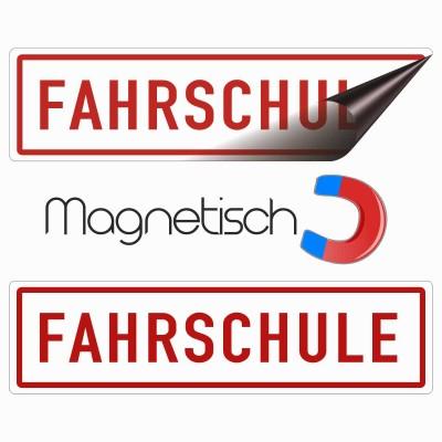 Magnetschild Fahrschule