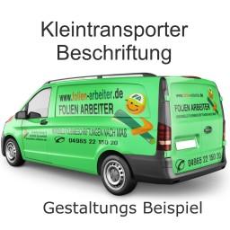 Kleintransporter Beschriftung