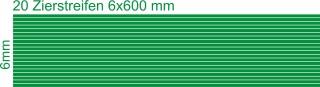 Zierstreifen 6mm