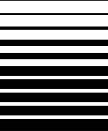 Glasdekor Streifenmotiv 03