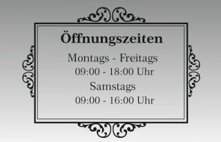 Öffnungszeiten Design-1