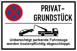 Privatparkplatz Privat Grundstück 005