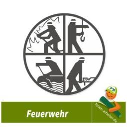 FEUERWEHR Symbole Retten Löschen  Bergen Schützen