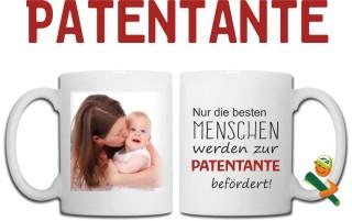 zur Patentante befördert