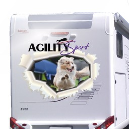 Agility Sport  Aufkleber