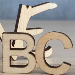 3D-Buchstaben 30 mm