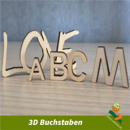 3D-Buchstaben 50 mm