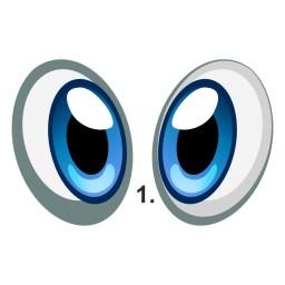 Augen für Deinen Mähroboter - individuelles Design durch hochwertige Aufkleber