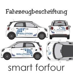 Smart - forfour Beschriftung zur Selbstmontage