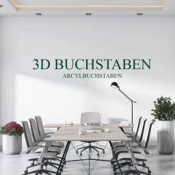 3d-Buchstaben aus Holz oder Acryl Online Konfigurator
