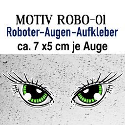 Mähroboter AUGEN II - individuelles Design auf für Saugroboter geeignet