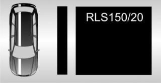 zwei-Liner - Rennstreifen 150mm breit